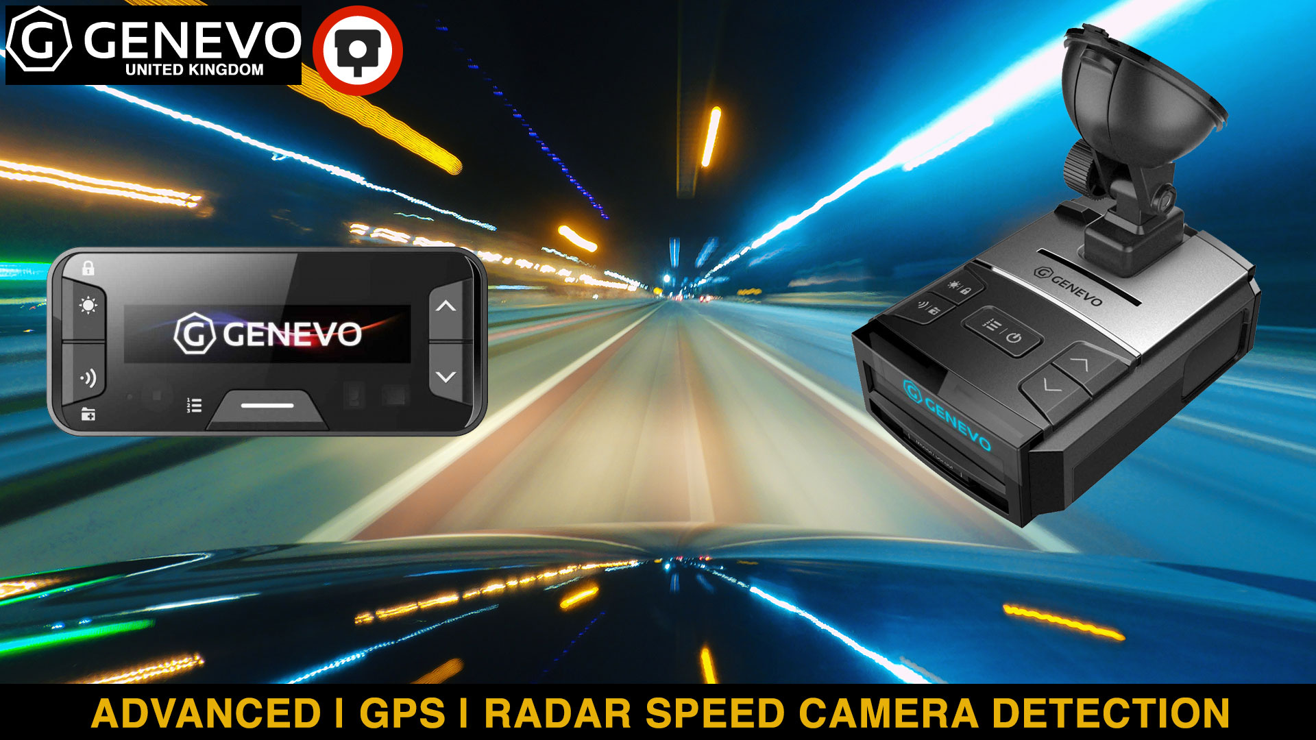Genevo - Speed Camera Devices - Genevo MAX - Genevo Pro 2 - Genevo One M - Genevo One S