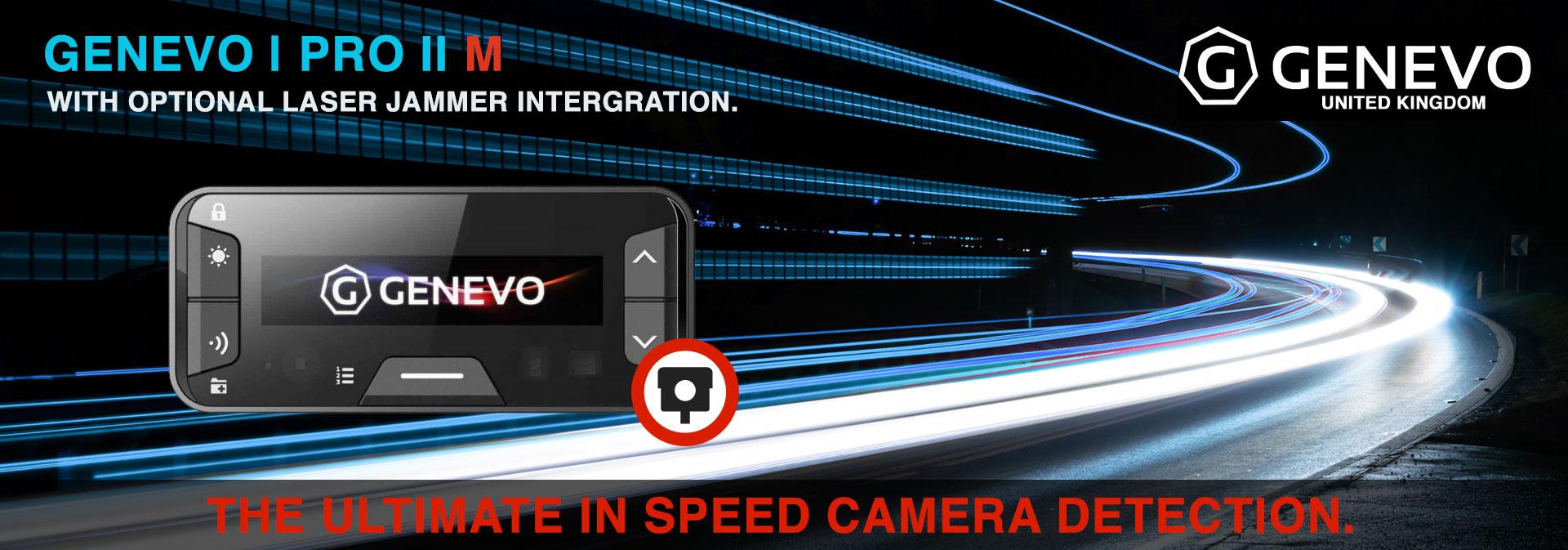 Genevo Pro 2 M - Installed Speed Camera Alert System