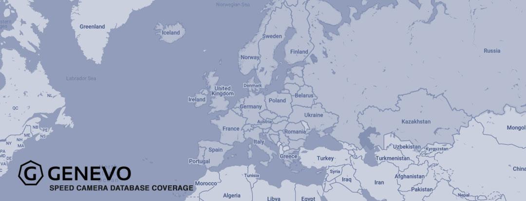 Genevo Speed Camera Database Map